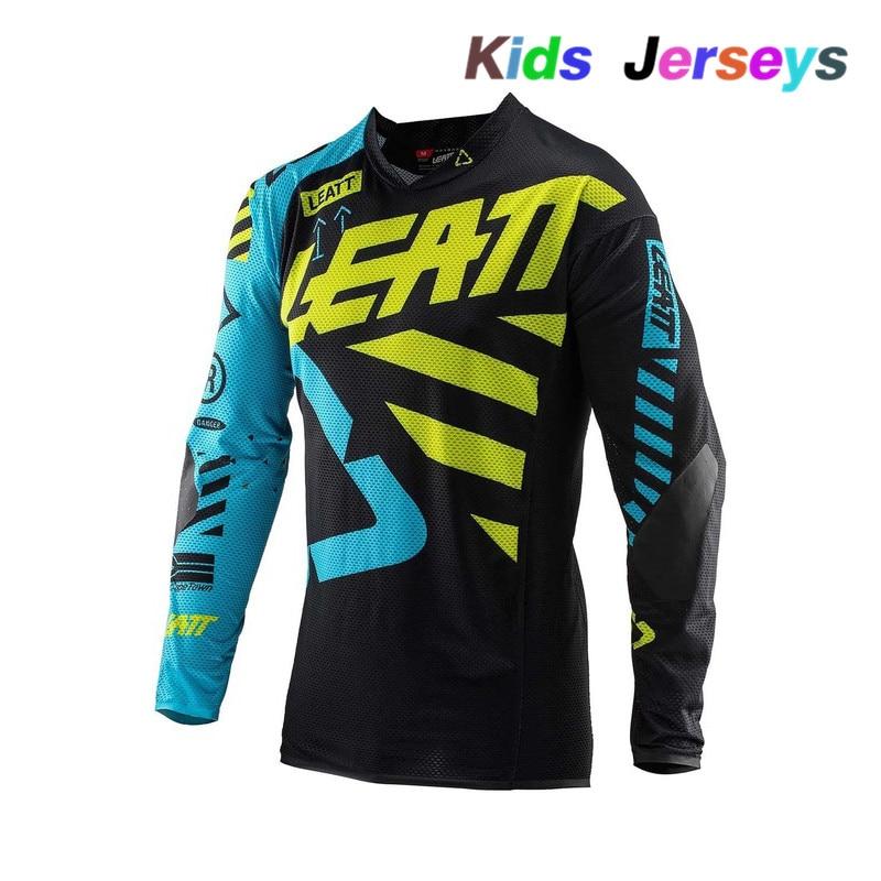 Dh-Shirt Motorcycle-Clothing Motocross-Jerseys MTB Mountain-Bike Downhil Boys Kids New