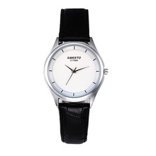 Relogio Masculino простой Для женщин Для мужчин часы из модного кожзаменителя любителей пары Кварцевые часы