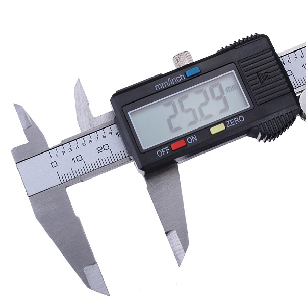 Professional 6 Inch 150mm Electronic Mini Digital Caliper Micrometer Guage Ruler with Battery + A Box New