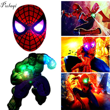 Sequins Patches Avengers LED Light Patch Embroidered Patches for Clothes DIY Sewing On Patches For Clothing Applique Stripe F sequins patches avengers led light patch embroidered patches for clothes diy sewing on patches for clothing applique stripe f