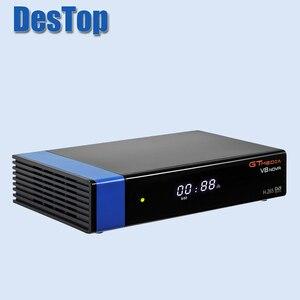 Image 2 - 5 Gtmedia V8 Nova Blauw Satellietontvanger Dvb S2 Ondersteuning Ingebouwde Wifi Ethernet Power Vu Biss Set Top doos