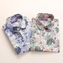 Cotton Long Sleeve Shirt Women