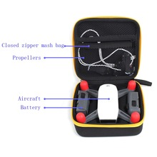 Mini DJI Spark Drone Storage Bag Transportable Purse Handheld Suitcase Field Case Battery Propeller Knowledge Charger Cable inexperienced backpack