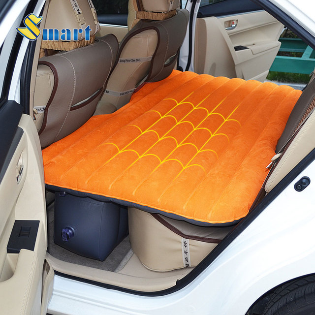 Smart Car Outdoor Travel Inflation Mattress Air Bed Back Seat ...