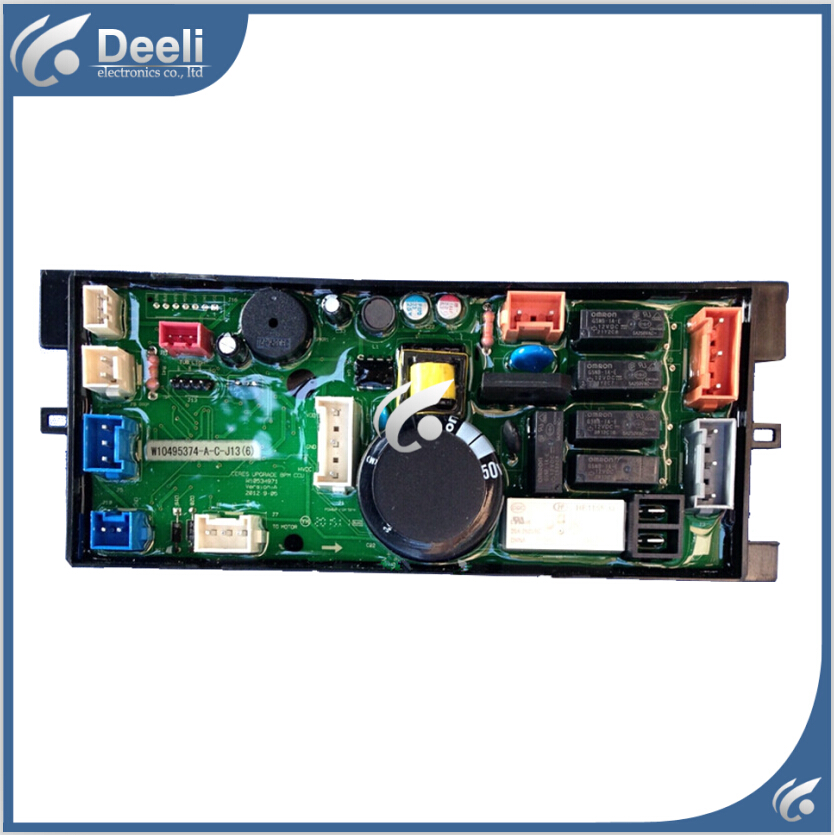 95% new Original good working for washing machine board Computer board W10495373 XQB70-XB7088VBPS motherboard free shipping 100% tested for washing machine board wfs1266ct wfc1256ct motherboard 4619 714 03847 good working on sale