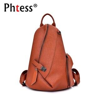 Image 1 - 2019 Designer Backpacks Brand Travel Shoulder Bag Female Backpack For Girls Sac a Dos Vintage Bagpack Ladies Mochilas Back Pack