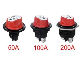 Изолятор аккумулятора Jtron 50A 100A 200A, выключаемый выключатель для автомобиля, раллийный выключатель для мотоцикла/автомобиля/boart