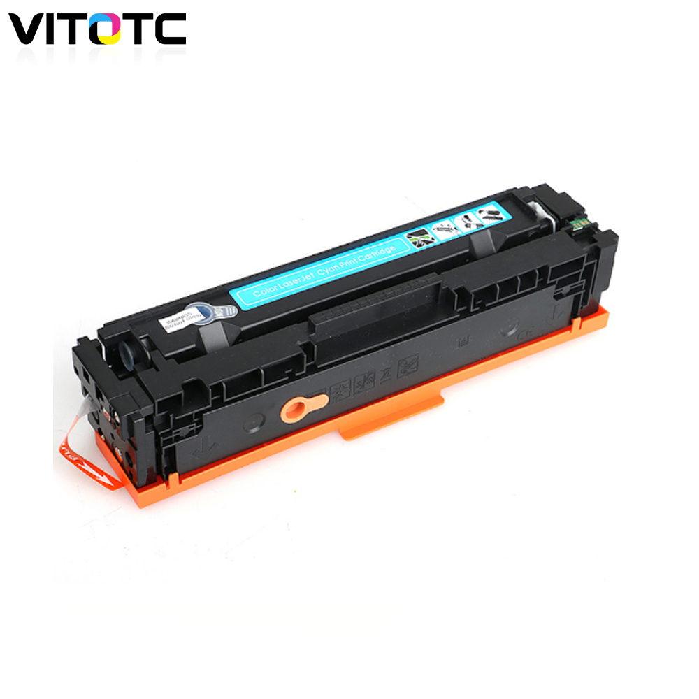 <font><b>Toner</b></font> Cartridge 201A CF401A Compatible For <font><b>HP</b></font> Color LaserJet Pro M252 M252n M252dw MFP M277n M277c6 <font><b>M277dw</b></font> Laser <font><b>Printer</b></font> Cyan image