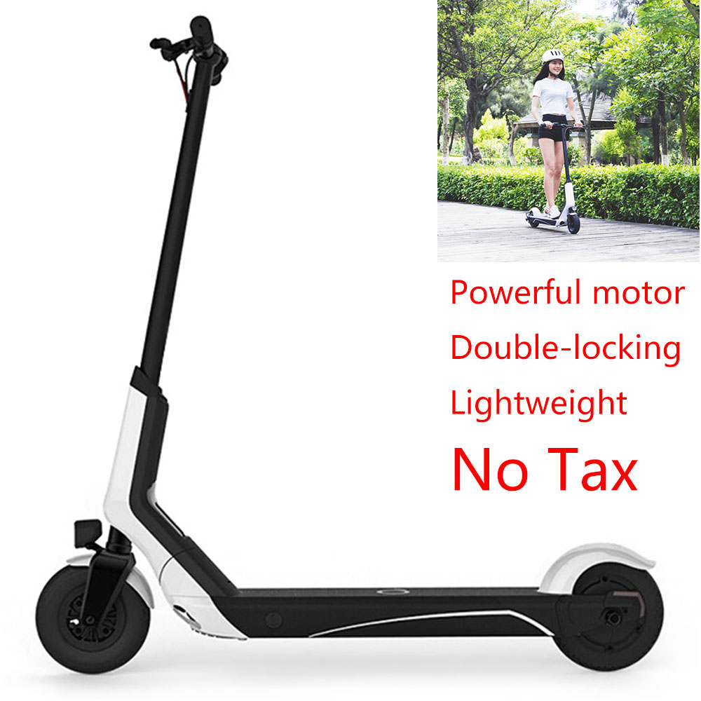 Hot Selling 8 Inch Tire Electric Scooters 5.2Ah Battery Folding Electric Scooter With Smart Riding Computer 2 Wheels Scooters daibot electric scooters adults two wheel electric scooters samsung lithium battery 24v folding electric skateboard scooter