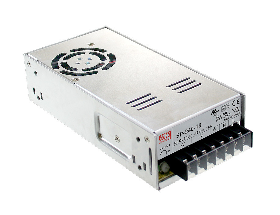MEAN WELL original SP-240-24 24V 10A meanwell SP-240 24V 240W Single Output with PFC Function Power Supply meqix power 240
