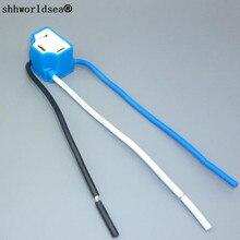 Shhworld Sea 1 шт. подходит для лампы 55 Вт 9003 HB2 H4 угол сгиба керамический держатель разъем