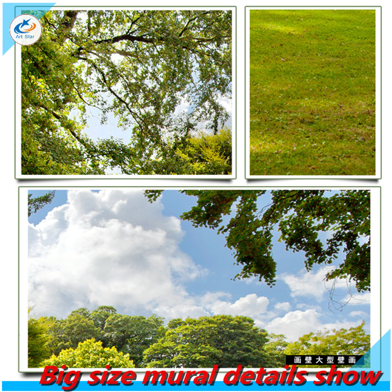 Free shipping this week Large mural wall of Living room and bedroom TV background 3D landscape wallpaper mural wallpaper roll  free shipping creative basketball star tooling background wall painting waterproof bedroom living room mural wallpaper