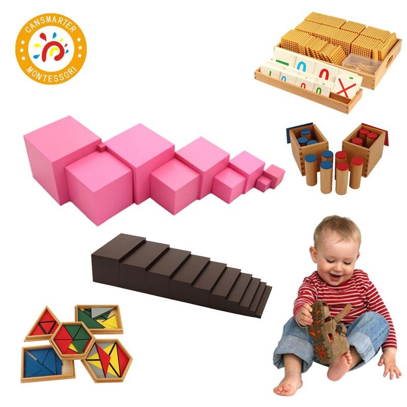 Juguete para bebé Material Montessori Material de enseñanza de matemáticas, idioma, juego de Educación Temprana, configuración de Aula