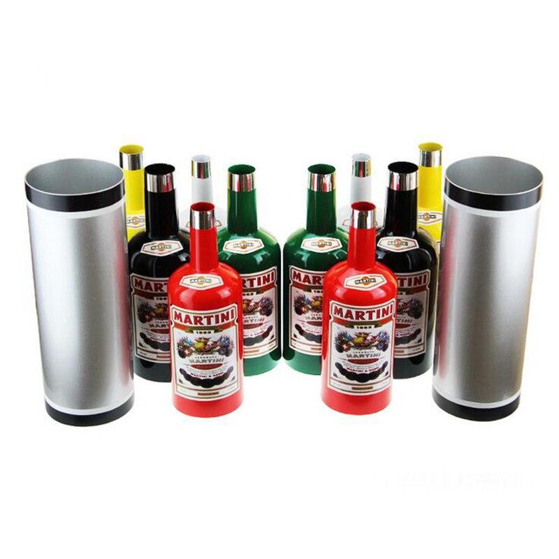 Multiplier les bouteilles de Passe (10 Set) rendues célèbres par le grand Tommy Cooper multicolore scène tours de magie Gimmick - 3