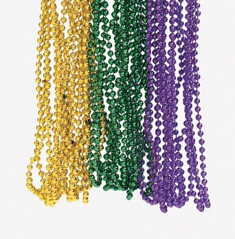 collier perle mardi gras