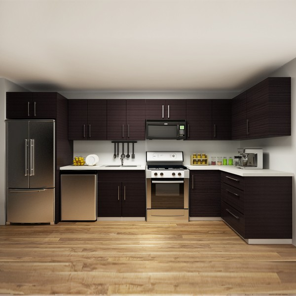 Wood Kitchen Cabinets Product: Aliexpress.com : Buy 2014 America Project Melamine Kitchen