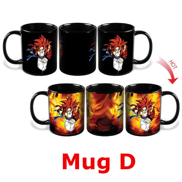Dragon Ball Z Mugs Changing Color
