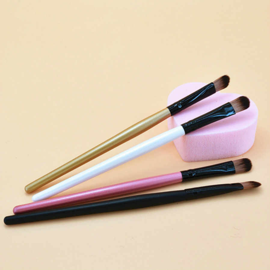1Pcs Women's Fashion Black Hair Makeup Brushes Set Powder Foundation Eyeshadow Make Up Brushes Cosmetics Soft Synthetic Hair PSS