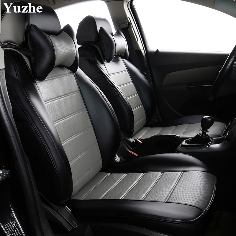 Yuzhe (2 Front seats) Auto automobiles car seat cover For Jeep Grand Cherokee Wrangler patriot compass car accessories styling цена