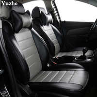Yuzhe (2 Front seats) Auto automobiles car seat cover For Jeep Grand Cherokee Wrangler patriot compass car accessories styling