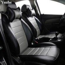 Yuzhe (2 przednie siedzenia) Auto samochody pokrycie siedzenia samochodu dla Jeep Grand Cherokee Wrangler patriot kompas akcesoria samochodowe stylizacja