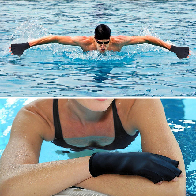 Water Resistant Swimming Gloves