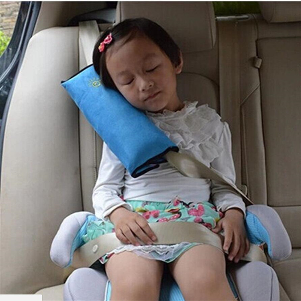 Taitian 1pc Car Safety Seat Belt for Kids Strap Cover Harness Shoulder Protection Pad Pillow Child for Car Safety Baby Sleeping