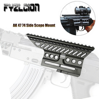 AK47 74 47 B 13 CNC Aluminium 20mm M47 QD Side Rail Red Dot Scope Mount Hunting Accessories Shotgun For Hunting