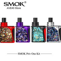 100 Original Electronic Hookah SMOK Priv One Kit Integrated Kit 920mah Battery Whit 2ml Built In