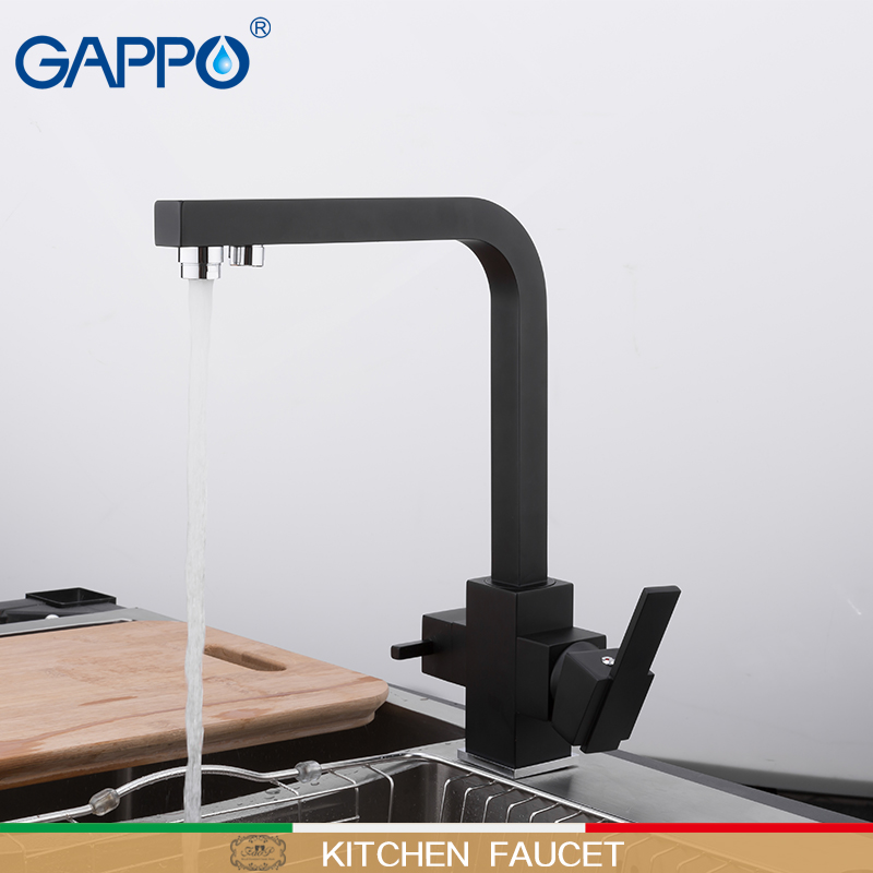 GAPPO Kitchen faucet black kitchen mixers sink faucet gappo taps faucet mixer water faucets for kitchen
