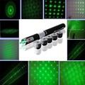 5 в 1 Зеленая Лазерная Ручка 50 МВт Star Effect Caps 5 Laserheads Lazer Света