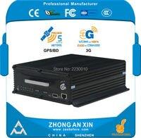 4 Channel AHD 720P GPS Tracking 3G WCDMA 2 5 SATA HDD 2TB SD Card 64GB
