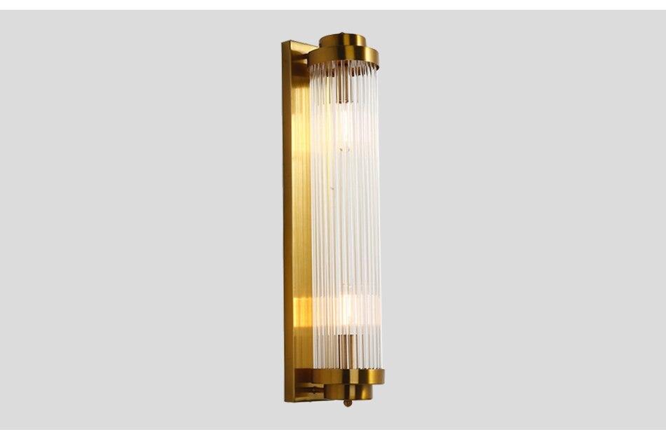 Acquista applique da parete in oro illuminazione lampada da
