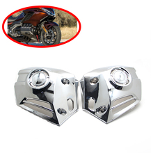 For Honda Goldwing 1800 GL1800 2018 Chrome Motorcycle Motobike Lower Cowl Covers Left and Right Cover