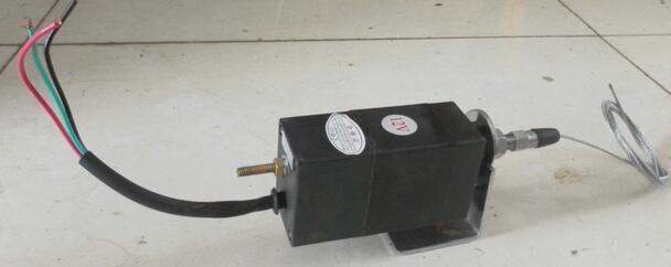 O envio gratuito de XHZ PL 24 v regulador do acelerador elétrico do motor diesel controle dispositivo eletrônico power grid válvula eletromagnética - 2