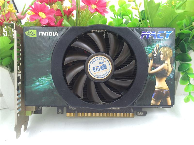 Used graphics cardfor MACY GTX740 2G DDR3 game graphics card 128BIT used gtx740 energy efficient desktop game disassemble graphics 1gd5
