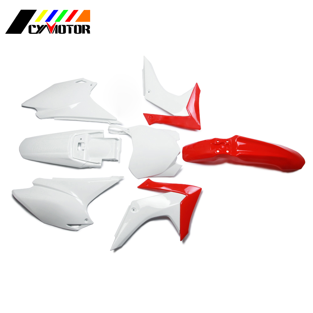 Motocycle Plastic Body Kit Fairing Front Rear Fender Mudguard For HONDA CRF230F CRF 230F 230 F 2015 2016 2017 15 16 17 motorcycle rubber black gas fuel tank with cap for honda crf230f crf 230f 2015 2016 2017