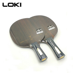 LOKI V9 ébano de carbono de tenis de mesa profesional raqueta de tenis de mesa ofensiva arco de Ping Pong