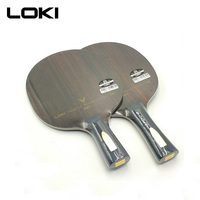 LOKI V9 Ebony Carbon Table Tennis Blade Professional Table Tennis Racket Offensive Arc Ping Pong Blade