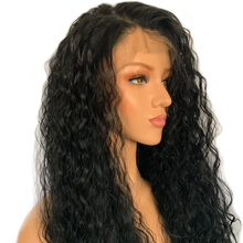 Glueless Lace Front Human Hair Wigs Pre Plucked Bleacked Knots Lace Wig Remy Brazilian Lace Front Wig 130% Water Wave Wig