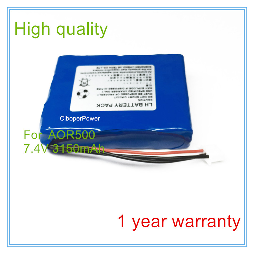 High Quality For  AOR500ABS Battery | Replacement For  AOR500ABS Optical Time Domain Reflectometer Battery replacement for optical time domain reflectometer mts 5100e mts 5000 ftb 100 ftb 400 otdr battery