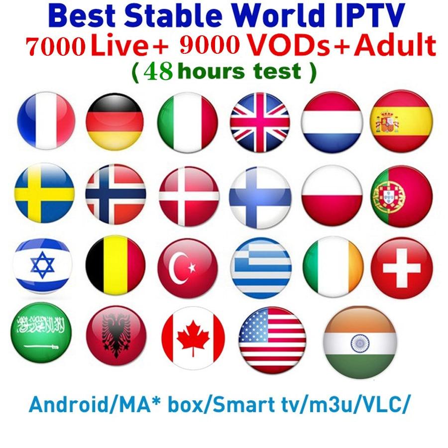 HD World IPTV M3U Enigma2 IPTV Italy UK Germany Belgium French Romania Mediaset Premium 7000+ Channels For Android Box Smart TV