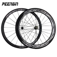 DIY racing wheels bike 23 width 38mm+60mm clincher carbon fiber bike road racing wheelsets best bike accessories online hot sale