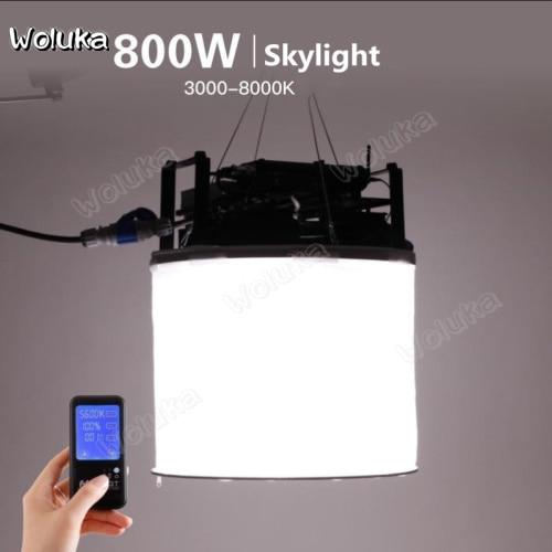 Falconeyes Led Space  Photography Light Video And  Film Light Lamp  Lantern 800W Sky Light Studio Light CD50 T08