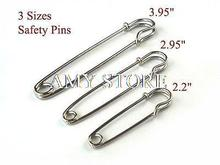 2 sets 6pcs Large Safety Pin 3 Size Kilt Skirt Pin Silver Color 3 95 2
