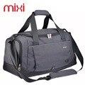 39L Mixi Grande Capacidade Saco de Ginásio Saco de Desporto Das Mulheres Dos Homens 3 Cores de Fitness Ao Ar Livre Viagem Duffle Bag