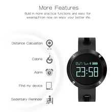 Makibes DM58 Smart Bracelet Blood Pressure Heart Rate Monitor IP68