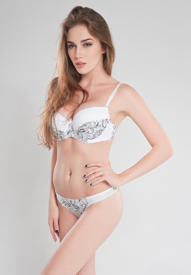 Bras Back To Search Resultsunderwear & Sleepwears White Plus Size 36 38 40 C Dd E Cup Intimate Lingerie Bra Set Lace Floral Gay Underwear Push Up Bra T Set Secret Women B3 Cheap Sales
