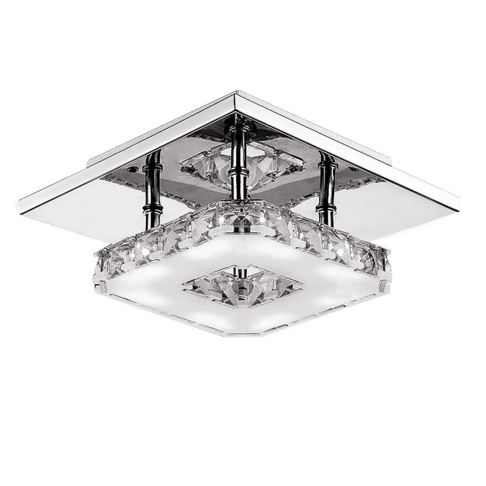HTB1rVU c0bJ8KJjy1zjq6yqapXaM Crystal Chandelier | Crystal Light | Ceiling Lights Indoor Crystal Lighting LED Luminaria Abajur Modern LED Ceiling Lamp For Living Dining Bed Room Home Decoration Power 12W
