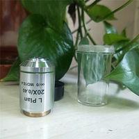 Long Working Distance Metallurgical Microscope Infinity Plan Objective Lens 5X 10X 20X 50X